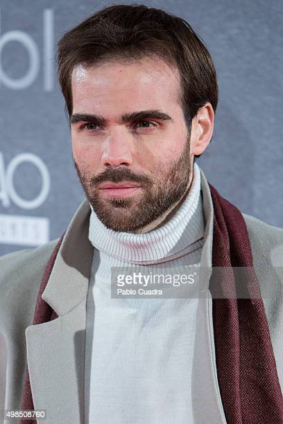 Angel Caballero attends 'Invisibles' charity premiere at the Callao City Lights Cinema on November 23 2015 in Madrid Spain