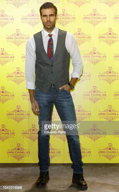 Angel Caballero attends the 'Unas Chung Lee' opening party at Unas Chung Lee bar on September 27 2018 in Madrid Spain