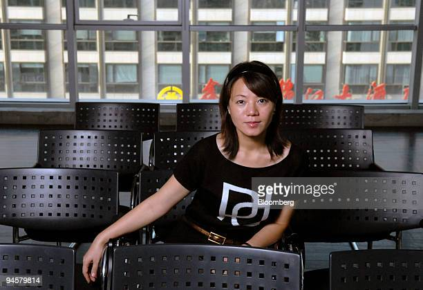 Angel Chen general manager of OgilvyOne Worldwide poses for a portrait in Beijing China on Tuesday Sept 18 2007 While China's middle class has fallen...