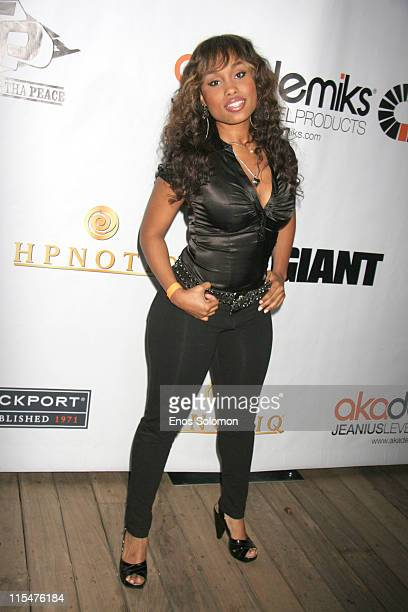Angel Conwell during Akademiks Disturbing Tha Peace Presents A Private Reception Hosted By Ludacris DTP Recording To Celebrate 2007 BET Awards at...