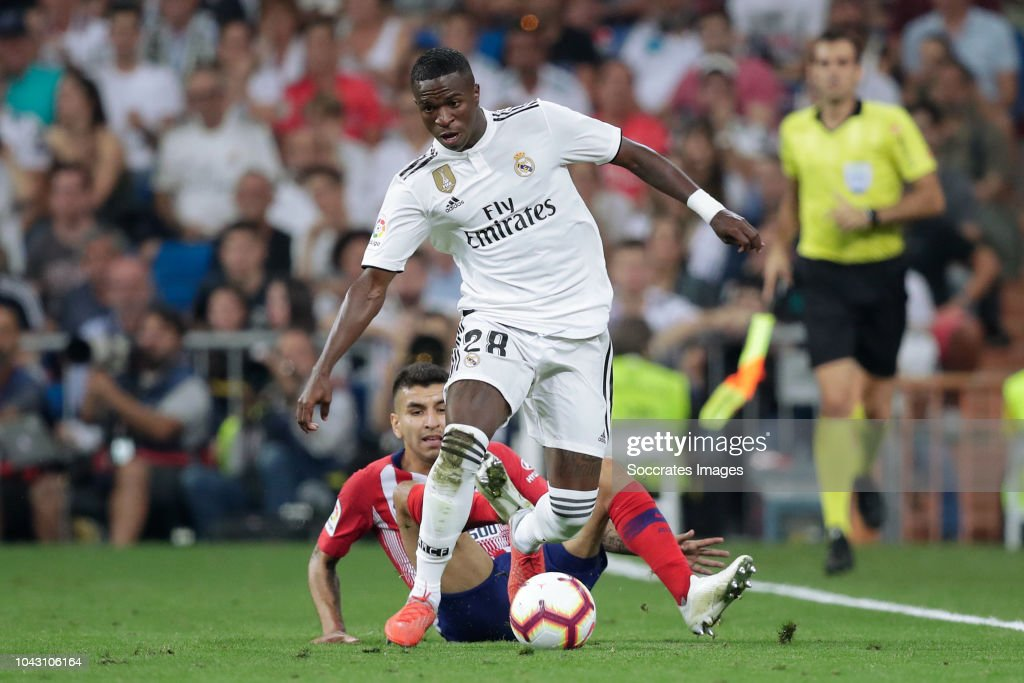 Real Madrid v Atletico Madrid - La Liga Santander : News Photo