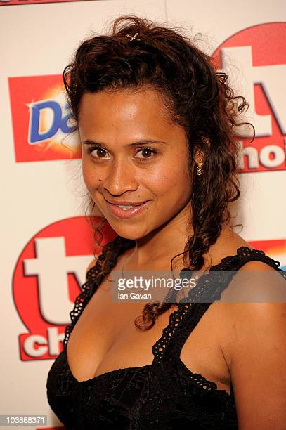 Angel Coulby arrives at the TV Choice Awards 2010 at The Dorchester on September 6 2010 in London England