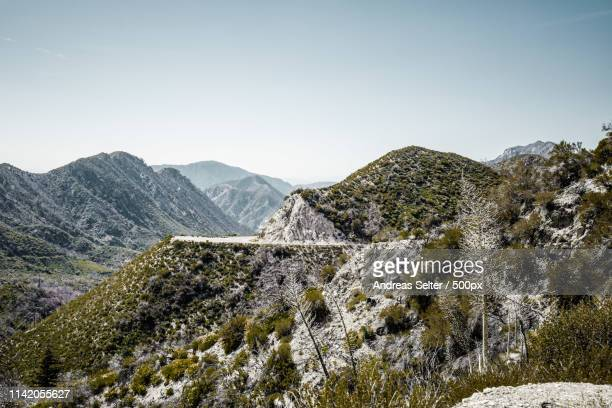 angel crest highway - san gabriel mountains stock pictures, royalty-free photos & images