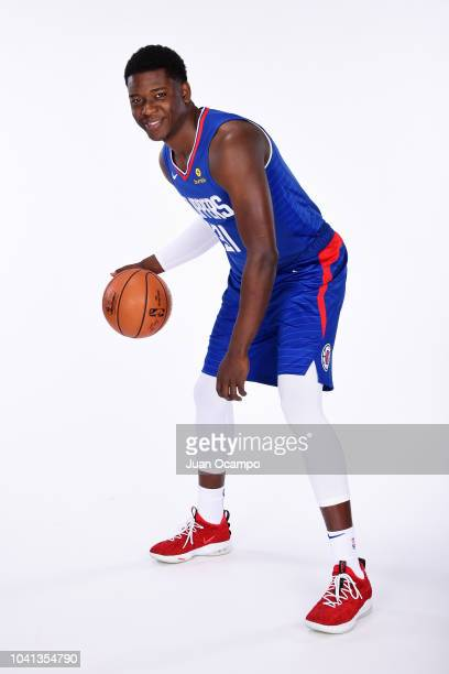 Angel Delgado of the LA Clippers poses for a portrait during media day at the LA Clippers Training Center on September 24 2018 in Playa Vista...