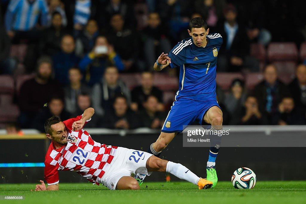 Argentina v Croatia - International Friendly : News Photo