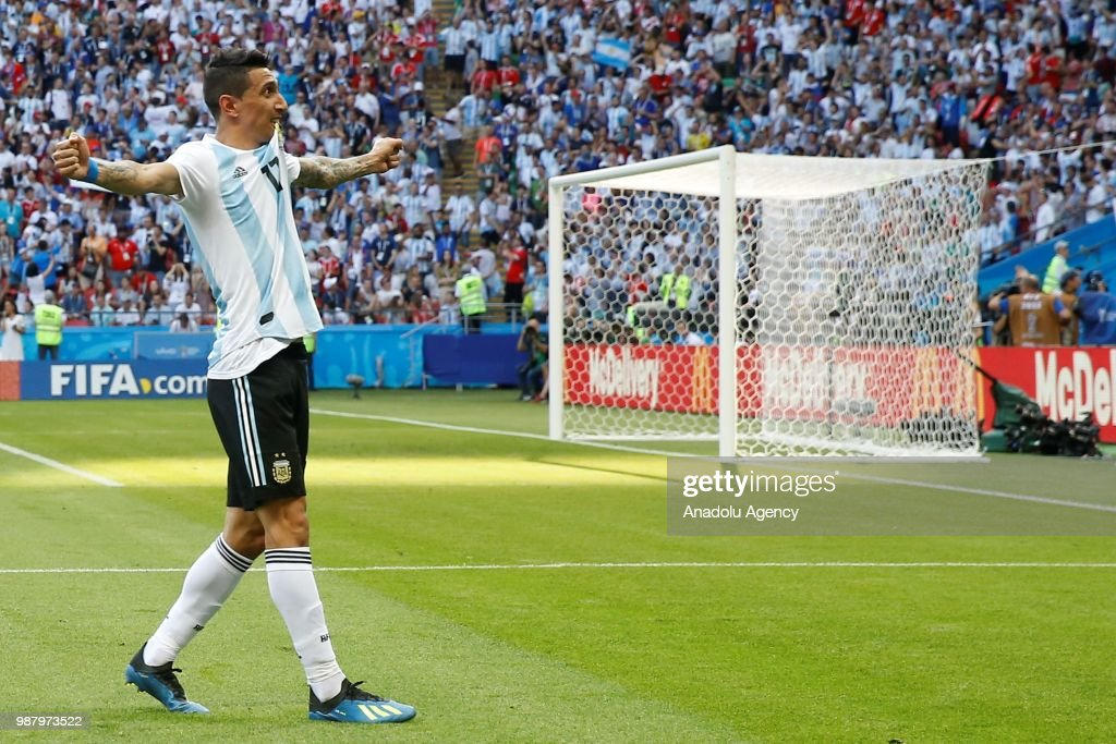 France v Argentina : Round of 16 - 2018 FIFA World Cup Russia : News Photo