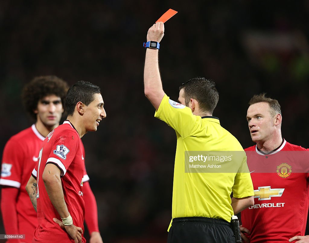 SOCCER : FA Cup Round Six - Manchester United v Arsenal : News Photo