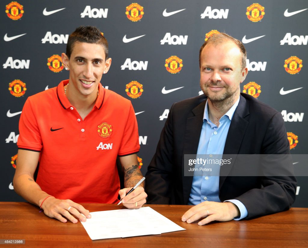 Manchester United Unveil Record Signing Angel di Maria