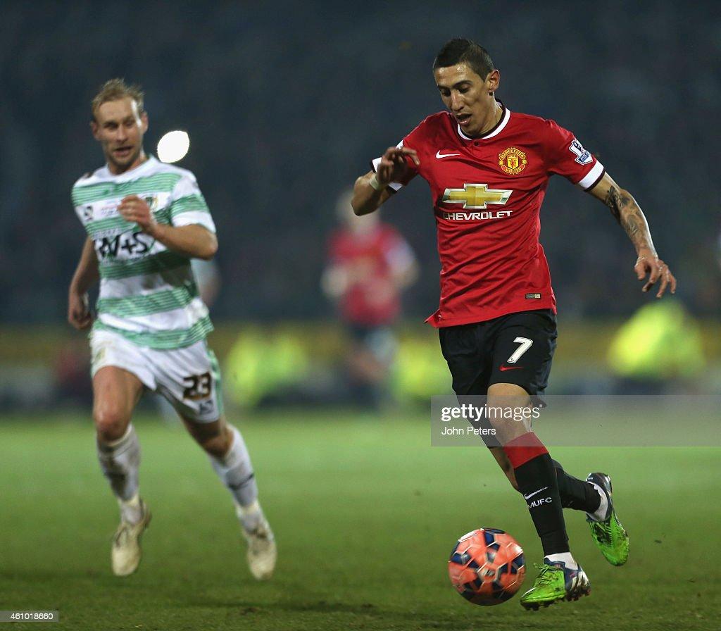 Yeovil Town v Manchester United - FA Cup Third Round : Nachrichtenfoto