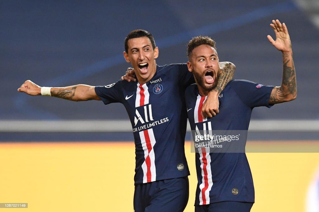 RB Leipzig v Paris Saint-Germain F.C - UEFA Champions League Semi Final : Nieuwsfoto's