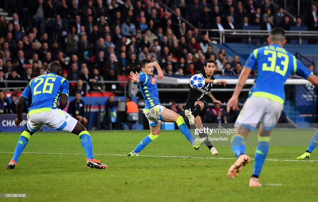 Paris Saint-Germain v SSC Napoli - UEFA Champions League Group C : News Photo