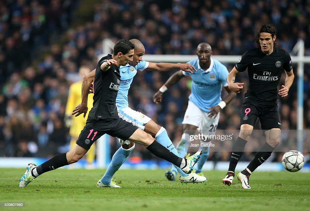 Manchester City v Paris Saint-Germain - UEFA Champions League Quarter Final: Second Leg : News Photo
