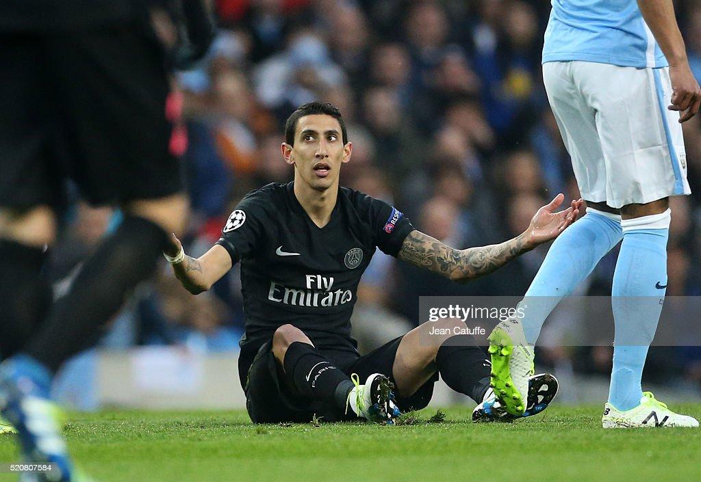 Manchester City v Paris Saint-Germain - UEFA Champions League Quarter Final: Second Leg : News Photo
