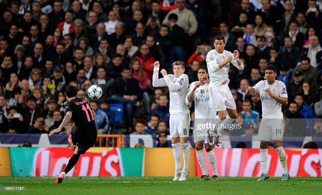 Real Madrid CF v Paris Saint-Germain - UEFA Champions League : News Photo