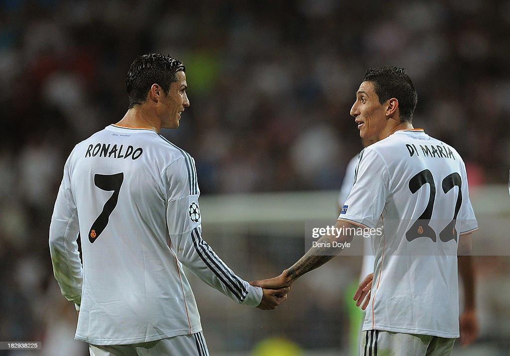 Real Madrid CF v FC Copenhagen - UEFA Champions League : News Photo