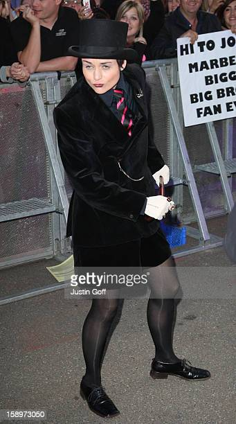 Angel Enters The Big Brother Series 10 House At Elstree Studios On June 4 2009 In Borehamwood Hertfordshire