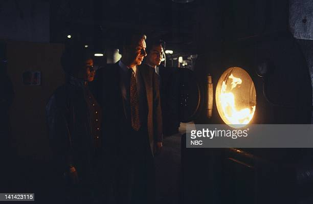 LAW ORDER Angel Episode 8 Aired Pictured S Epatha Merkerson as Lt Anita Van Buren Jerry Orbach as Detective Lennie Briscoe Benjamin Bratt as...