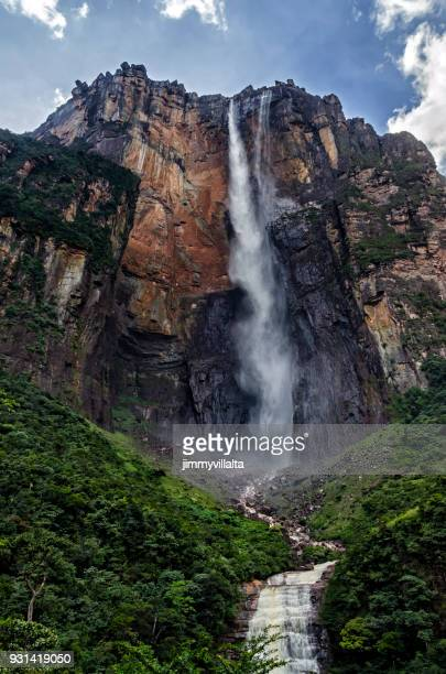angel falls - angel falls stock photos and pictures