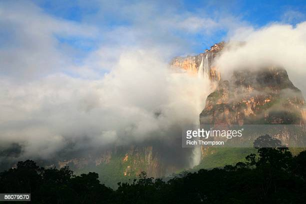 angel falls, venezuela - angel falls stock photos and pictures