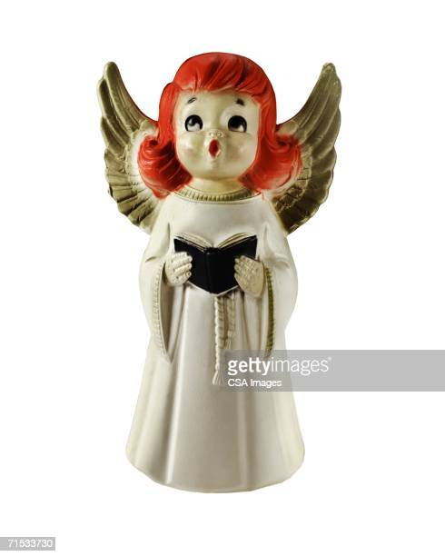 angel figurine - angel stock pictures, royalty-free photos & images
