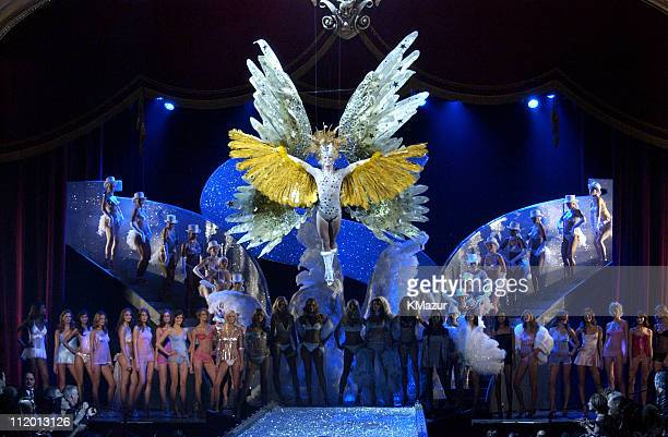 Angel Finale during 9th Annual Victoria's Secret Fashion Show - Runway at The New York State Armory in New York City, New York, United States.