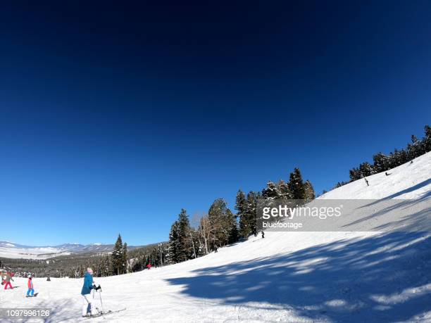 angel fire ski resort, new mexico, usa - bluefootage stock pictures, royalty-free photos & images