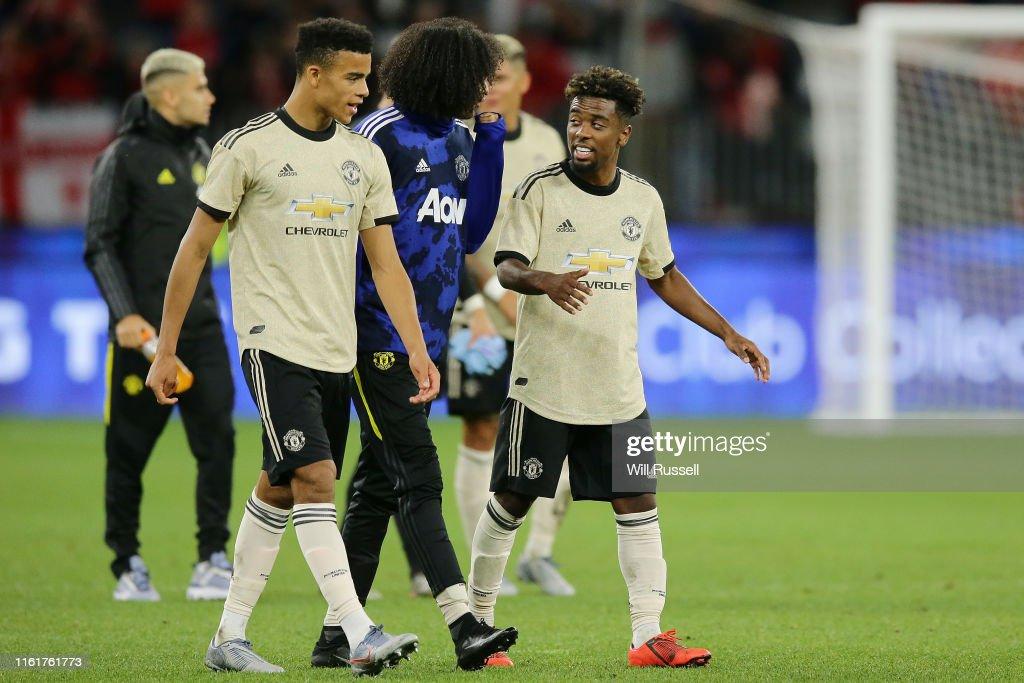 Perth Glory v Manchester United : News Photo