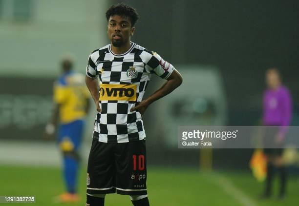 Angel Gomes of Boavista FC during the Portuguese Cup match between GD Estoril Praia and Boavista FC at Estadio Antonio Coimbra da Mota on December...