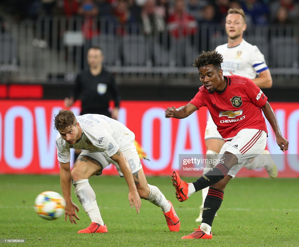 Manchester United v Leeds United - Pre-Season Friendly : News Photo