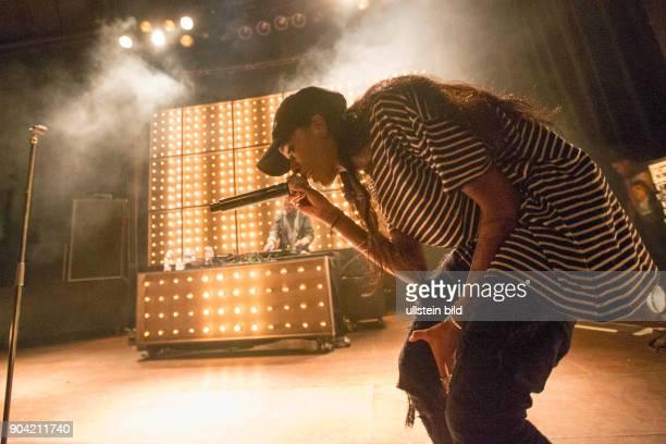 Angel Haze eigentlich Raeen Roes Wilson die amerikanische Rapperin bei einem Konzert im Hamburger Mojo Club Photo by Jazz Archiv Hamburgullstein bild...
