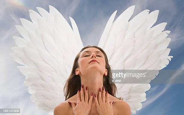 Angel in ecstasy