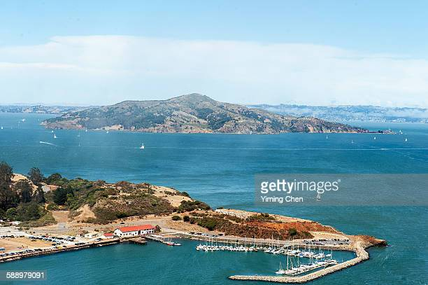 angel island in san francisco bay - state park stock pictures, royalty-free photos & images