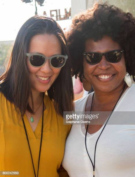 Angel Kristi Williams Angela Lee Film Independent Staff attend the Fast Track Happy Hour during the 2017 Los Angeles Film Festival on June 21 2017 in...