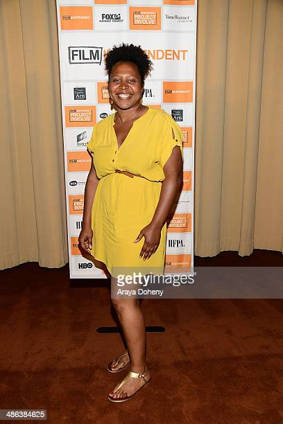 Angel Kristi Williams attends the Film Independent Project Involve Screening at Linwood Dunn Theater at the Pickford Center for Motion Study on April...