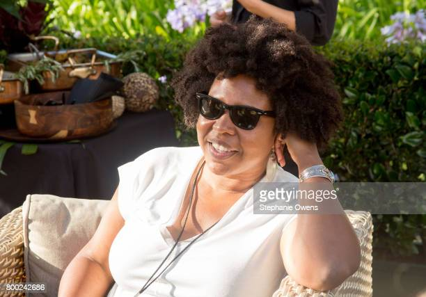 Angel Kristi Williams Film Independent Artist Development Manager attends the Fast Track Happy Hour during the 2017 Los Angeles Film Festival on June...