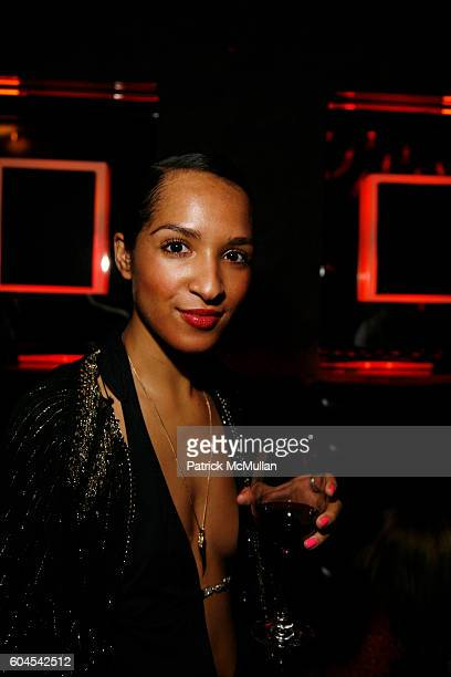 Angel LeGoff attends Vibrant Rioja Wines from Spain and Juli Bcom Host a Masquerade at The Night Hotel on November 30 2006 in New York City
