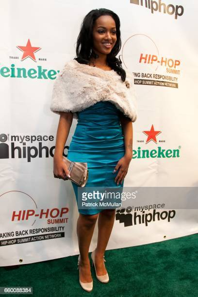 Angel Lola Love attends HipHop Summit Action Network's HipHop Inaugural Ball at Harman Center for the Arts on January 19 2009