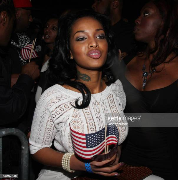 Angel Lola Love attends Young Jeezy's 'Presidential Status' Inauguration Ball at Club Love on January 18 2009 in Washington DC