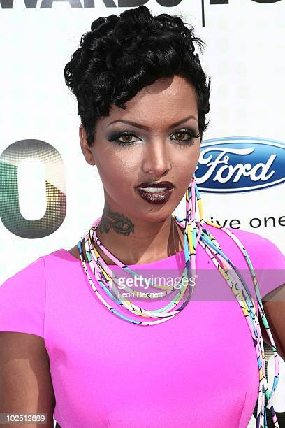 Angel Lola Luv arrives at the 2010 BET Awards held at The Shrine Auditorium on June 27 2010 in Los Angeles California