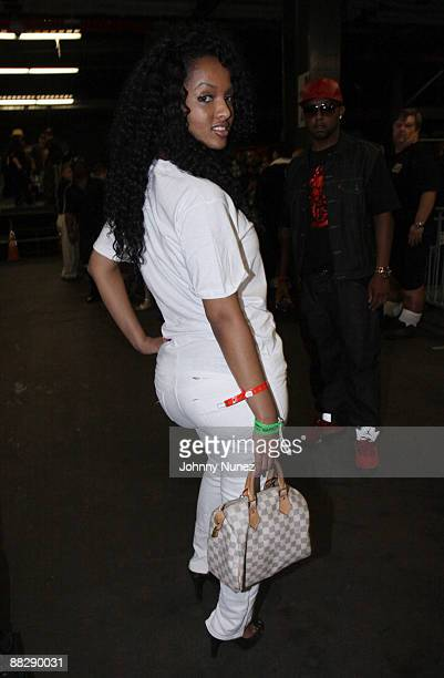 Angel Lola Luv attends HOT 97 Summer Jam 2009 at Giants Stadium on June 7 2009 in East Rutherford New Jersey