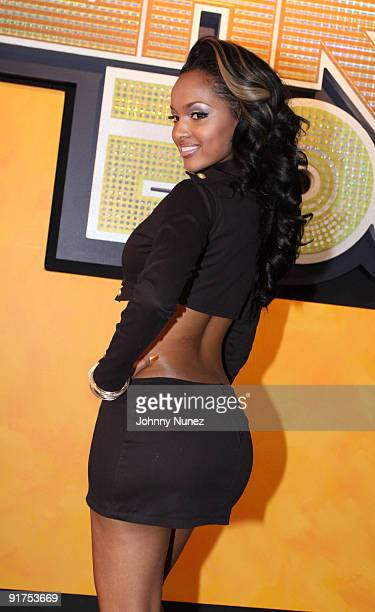Angel Lola Luv attends the BET Hip Hop Awards '09 at the Boisfeuillet Jones Atlanta Civic Center on October 10 2009 in Atlanta Georgia