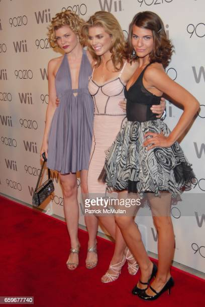 Angel McCord AnnaLynne McCord and Rachel McCord attend 90210 SEASON WRAP PARTY at Coco de Ville on March 21 2009 in West Hollywood California