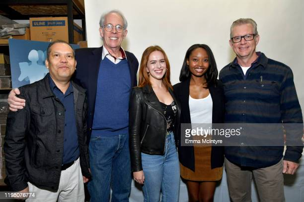 Angel Meza SAG Awards Committee Vice Chair Daryl Anderson SAG Awards Committee Member Elizabeth McLaughlin Ashleigh LaThrop and President CEO at...