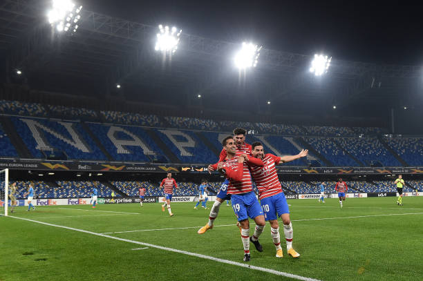 ITA: SSC Napoli v Granada CF  - UEFA Europa League Round Of 32 Leg Two