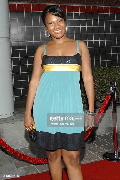 Angel Moore attends West Coast Screening of 'A Raisin in the Sun' at AMC Magic Johnson on February 11 2008 in Los Angeles CA
