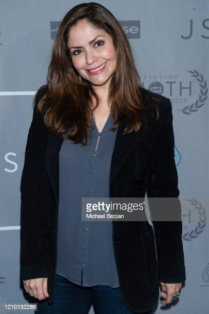 Angel Murphy arrives at 3rd Annual Mammoth Film Festival Red Carpet Monday on March 02 2020 in Mammoth Lakes California
