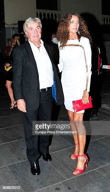 Angel Nieto and Belinda Alonso attend the dinner for 'Soy Uno Entre Cien Mil' directed by Penelope Cruz at Ten Con Ten restaurant on September 19...