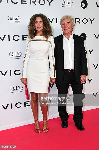 Angel Nieto and Belinda Alonso attend the premiere of 'Soy Uno Entre Cien Mil' directed by Penelope Cruz at Callao cinema on September 19 2016 in...