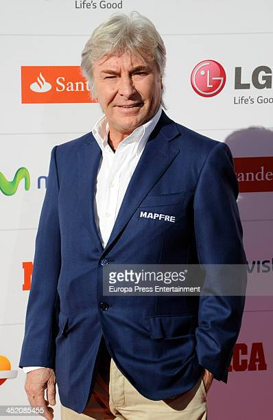 Angel Nieto attends 'Marca Award' 75th anniversary on November 26 2013 in Madrid Spain