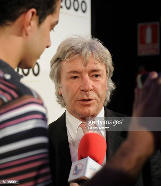 Angel Nieto attends ONDE 2000 Team Presentation on April 01 2008 at Joy Eslava Club in Madrid Spain